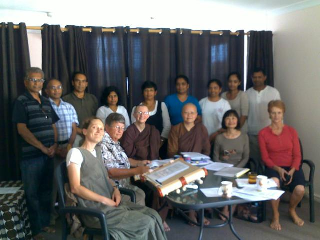 Meeting to incorporate Patacara Bhikkhuni Hermitage in April 2011