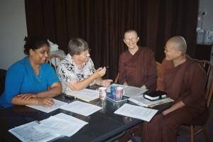Meeting to incorporate Patacara Bhikkhuni Hermitage