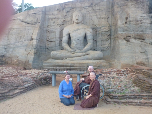 Meditative Buddha at Gal Vihara