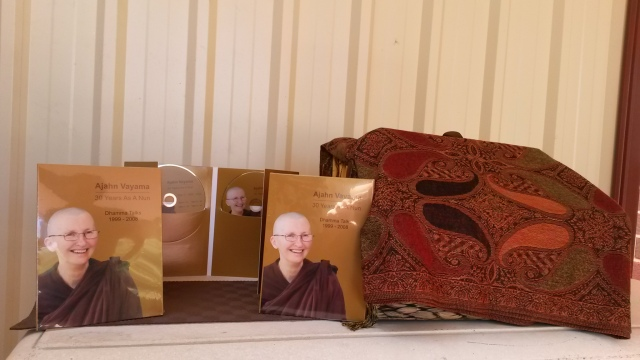 The publication of free distribution DvD, '30 Years As A Nun' to celebrate Ayya Vayama's special occasion on 6th December 2014.
